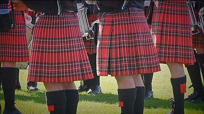 Love of tartan unites Scots of all stripes