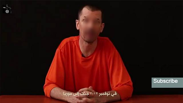 Militants release video of British hostage