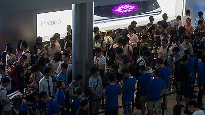Queues around the world as Apple fans await iPhone 6