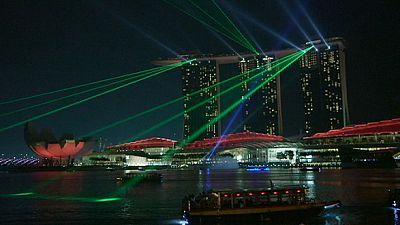 Singapura acende uma nova chama