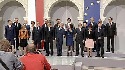 New Polish PM Ewa Kopacz unveils new cabinet