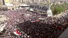 Protestas en Bagdad contra la intervención en Irak, mientras prosiguen bombardeos contra el EI