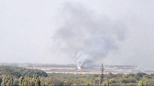 Ucraina, intesa per una zona smilitarizzata. A Donetsk esplosione in una fabbrica
