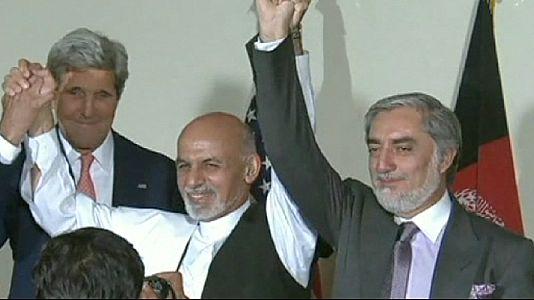 Afeganistão: Ashraf Ghani e Abdullah Abdullah chegam a acordo para a unidade nacional