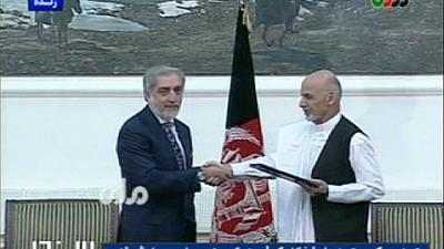 Afghanistan: agreement signed on unity government