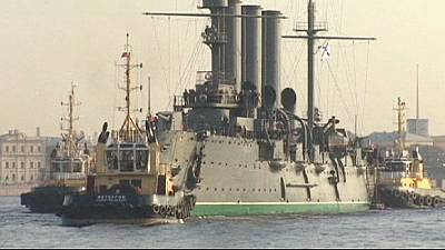 Russia: Aurora battle cruiser leaves St. Petersburg after 60 years