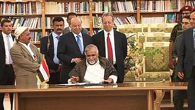 Rebels sign agreement with Yemeni government to end clashes