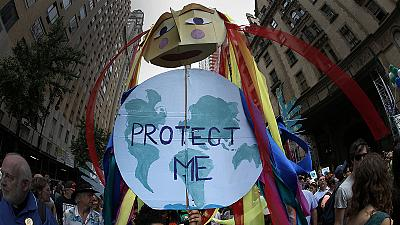 Global protest to call for climate change protection