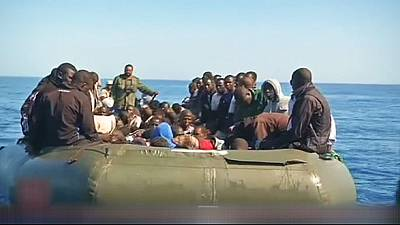 Migrants drown off North African coast after boat sinks