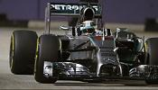 Hamilton on a high in Singapore as Rosberg suffers a mechanical
