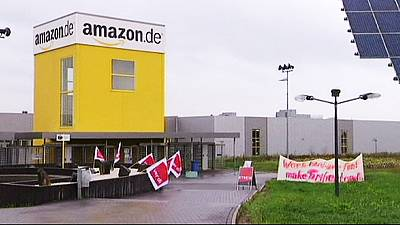 Amazon hit by strikes at German sites