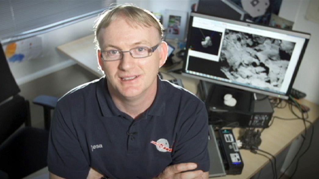 Rosetta uzay mekiğinin Philae parçası inişe hazır