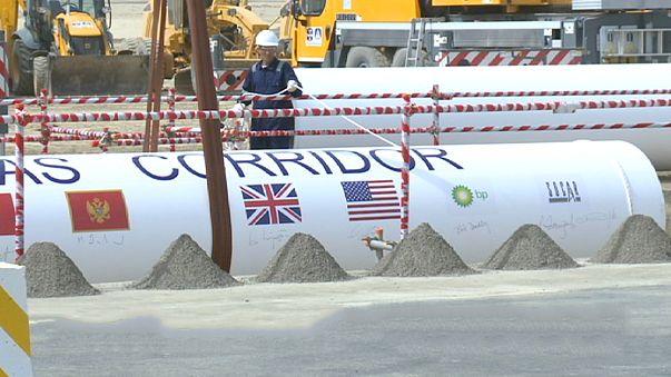 انطلاق مشروع ممر الجنوبي للغاز الطبيعي بين أذربيجان وتركيا