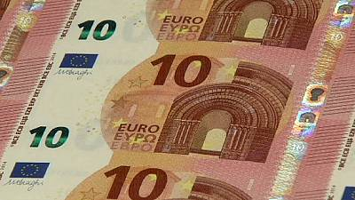Eurozone stiffens security for its new 10 euro banknote