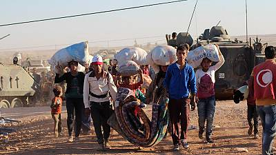 Turkey faces one of its biggest refugee influxes as thousands flee ISIL advance