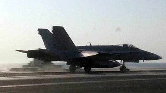 US carries out airstrikes on Syrian targets overnight