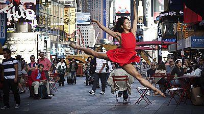 Jumping for joy – celebrating dance in New York City