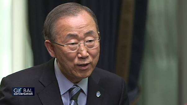 euronews speaks to Ban Ki-moon ahead of key UN and climate change talks