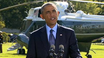Barack Obama lobt Luftangriffe auf Islamisten in Syrien