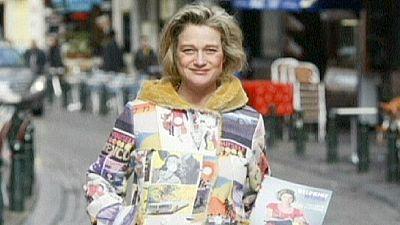 Belgian artist says she is former King Albert II's daughter