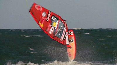 Windsurfing: Travesa wins World Cup stop in Klitmoller