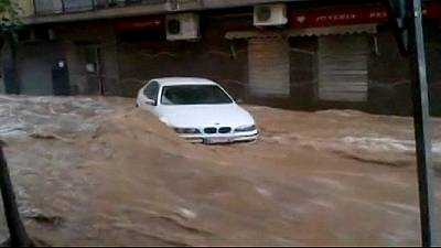 Heavy floods in Spain – nocomment