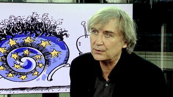 """بلونتو رسام الكاريكاتور في لوموند:"""" على ممالك الخليج أن تتحرك من أجل المسلمين"""""""