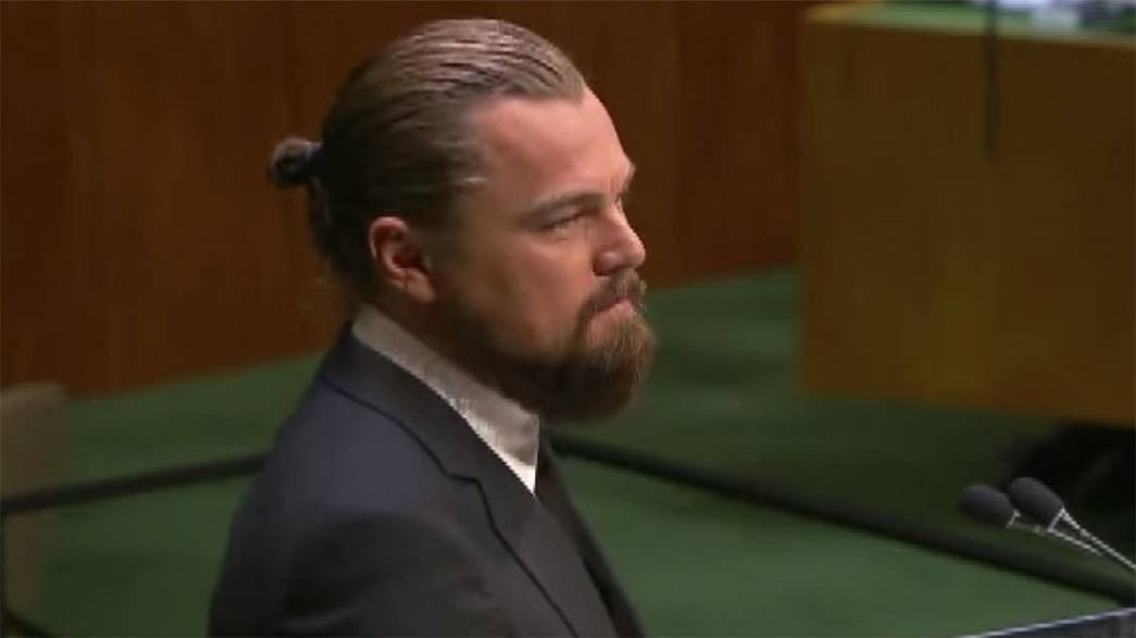 Watch: Leonardo DiCaprio speech among five must-see clips on UN climate summit