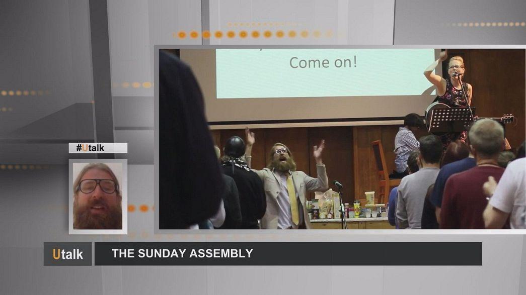 """Die """"Sonntagsversammlung"""": Gottlos in die Kirche gehen"""