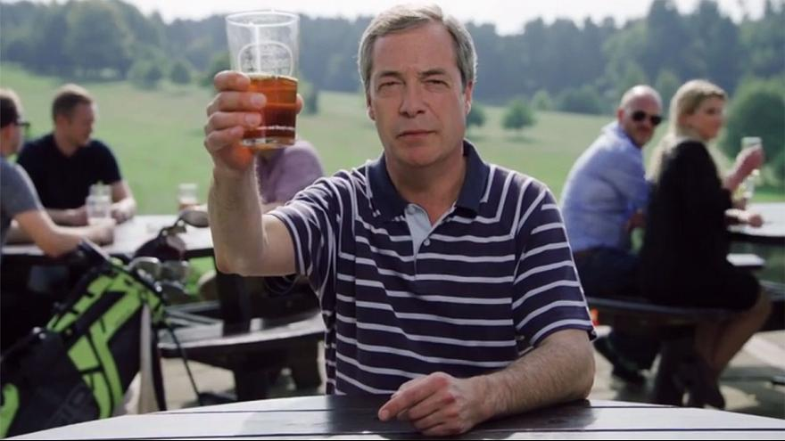 Watch: UKIP leader Nigel Farage gives his backing to Europe