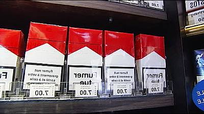 France to introduce new anti-tobacco laws