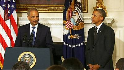 Law and order battle looms as US Attorney General Eric Holder resigns