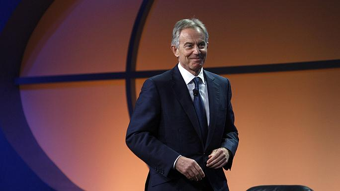 Former British PM Tony Blair hailed a 'gay icon'