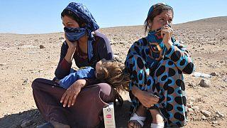 Leid der Jesiden: Frauen und Mädchen von Dschihadisten missbraucht
