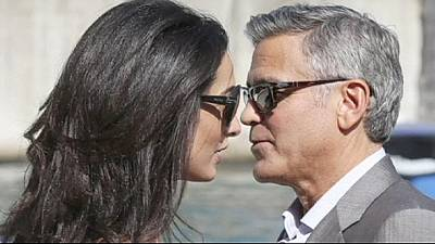George Clooney ties the knot in Venice