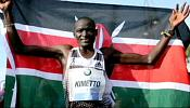 Kimetto smashes world record in fastest-ever marathon