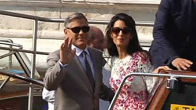 George Clooney makes first appearance since secretive Venice wedding – nocomment