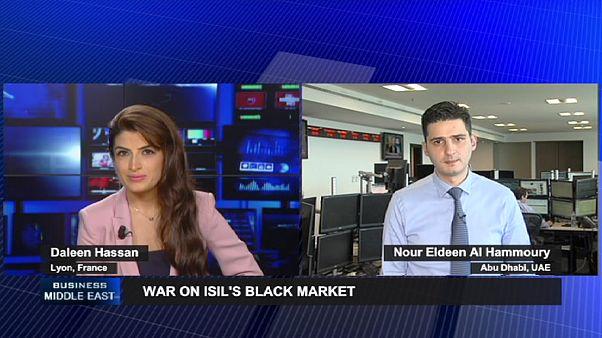 بمباران مواضع داعش و تاثیر آن بر تالارهای بورس خاورمیانه