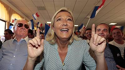 France: Marine Le Pen hails 'historic victory' after National Front wins first Senate seats