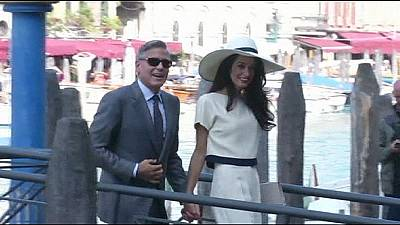 Clooney and Alamuddin officially say 'I do'