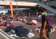 Hong Kong pro-democracy protest shows no sign of ending