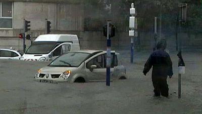 Record rainfall wreaks havoc in France