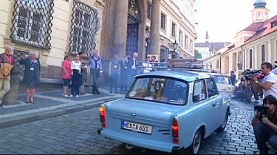 25 years on Prague remembers exodus of East Germans to West Germany