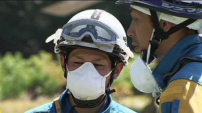 Search abandoned on Mount Ontake in Japan after strong tremors