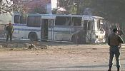 Suicide bombers' deadly attack on Afghan army buses