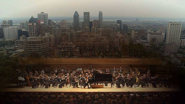 Benjamin Grosvenor en la Maison Symphonique de Montreal dirigido por Kurt Nagano