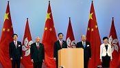 China National Day celebrated among growing Hong Kong protests