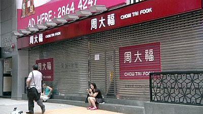 Hong Kong unrest hits retailers
