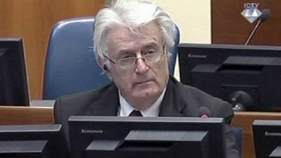 Karadic denies responsibility as Bosnia genocide trial nears end