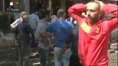 Twin car bombs kill schoolchildren in Syria